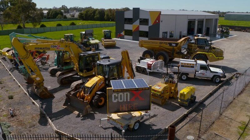 Need Earthmoving Equipment? ConX Hire
