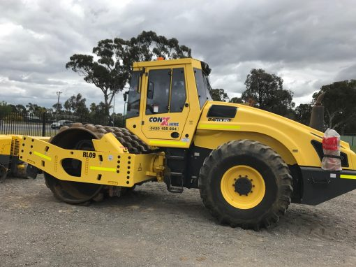 BOMAG BW219 Roller 20Tonne Pad Foot