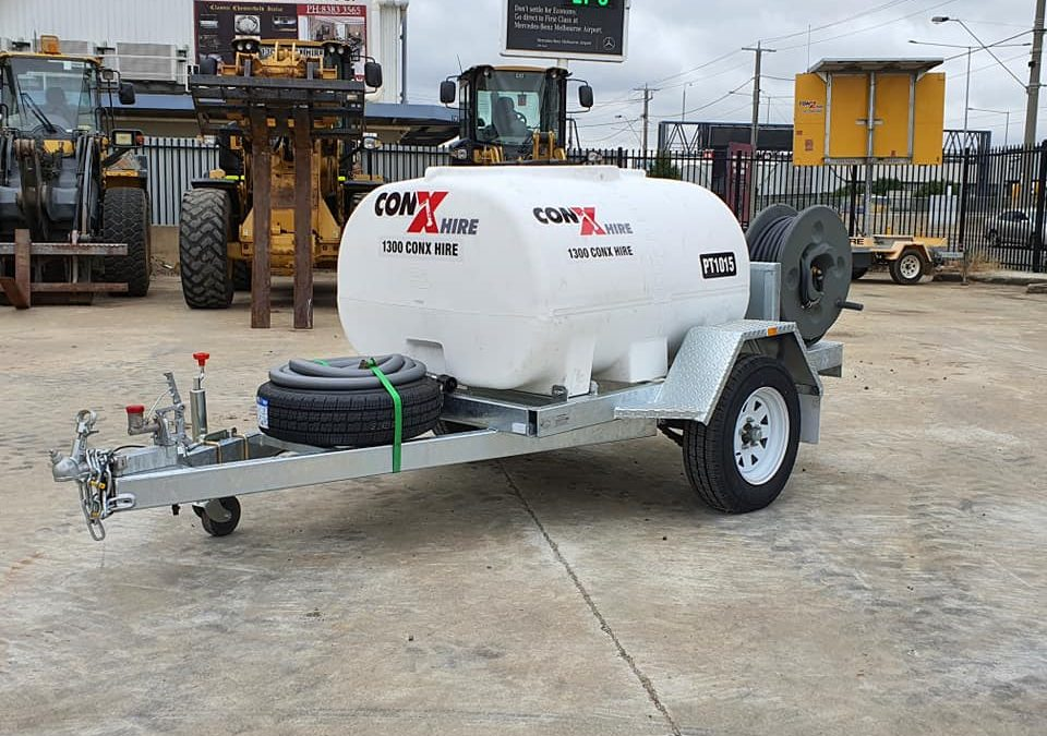 1000L Water cart for hire